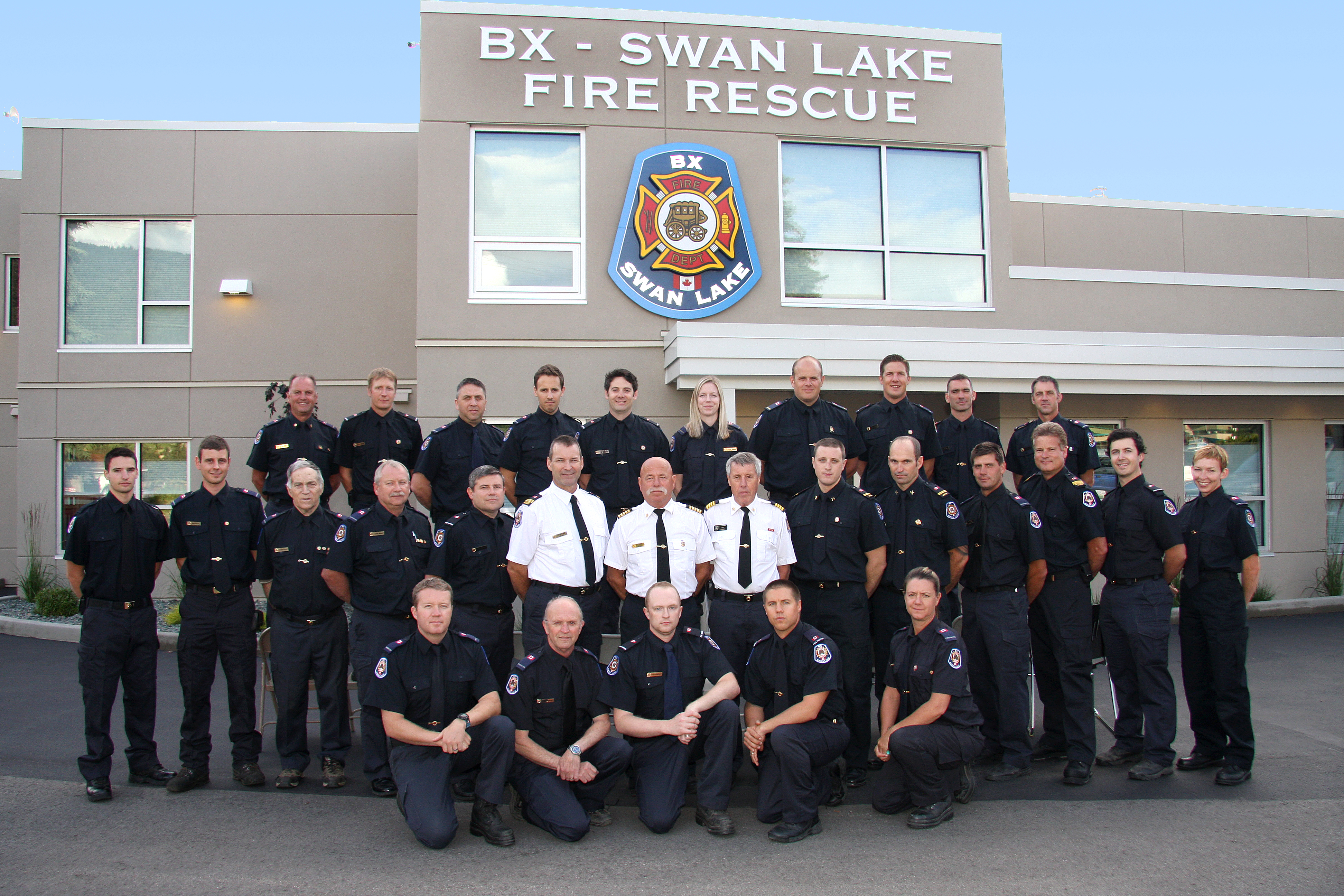 BX Swan Lake Fire Rescue 2016 Team