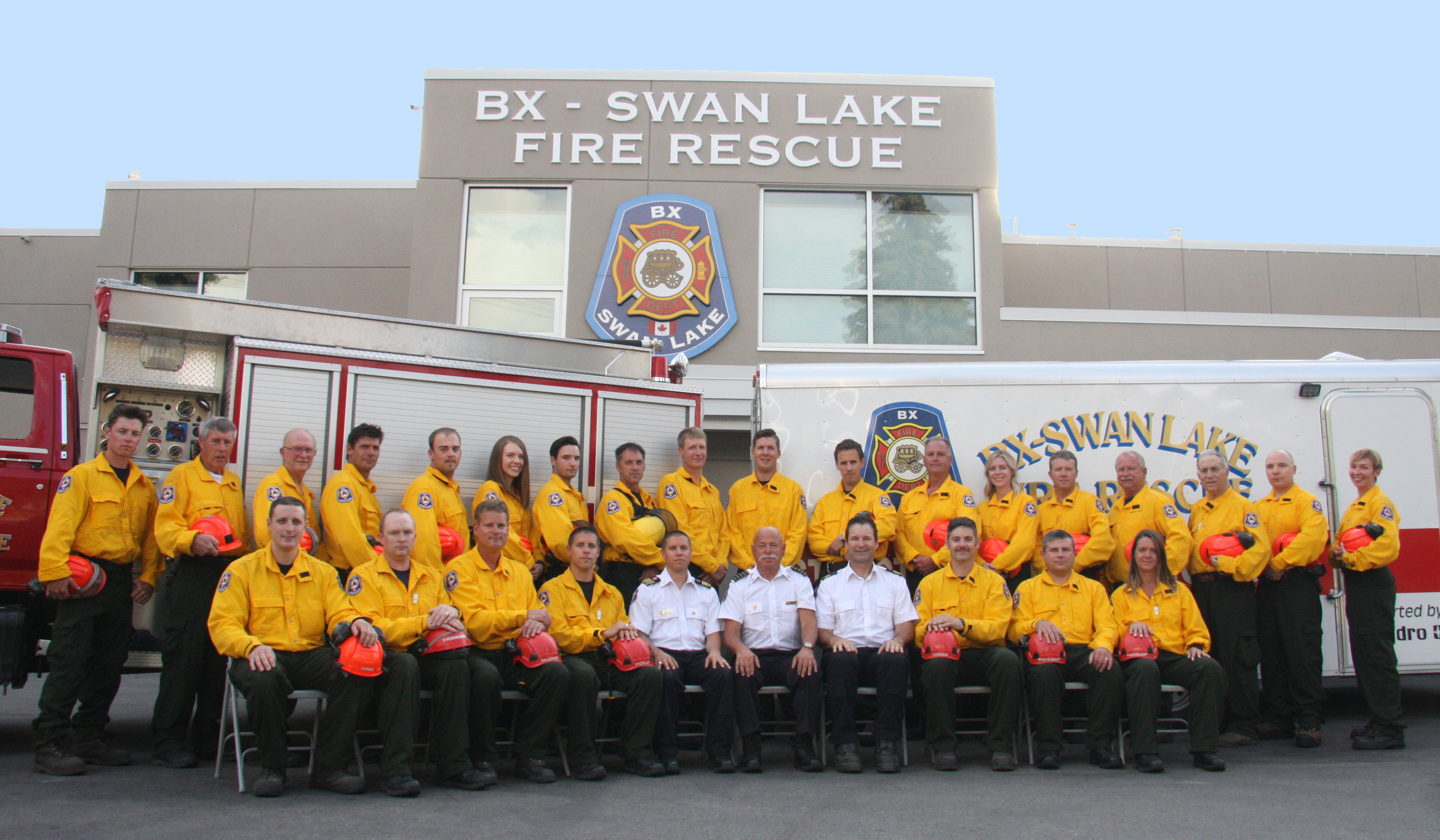 BX Swan Lake Fire Rescue 2018 Team